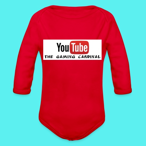 Youtube temp logo - Organic Long Sleeve Baby Bodysuit