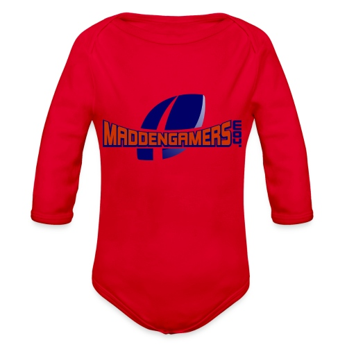 MaddenGamers - Organic Long Sleeve Baby Bodysuit
