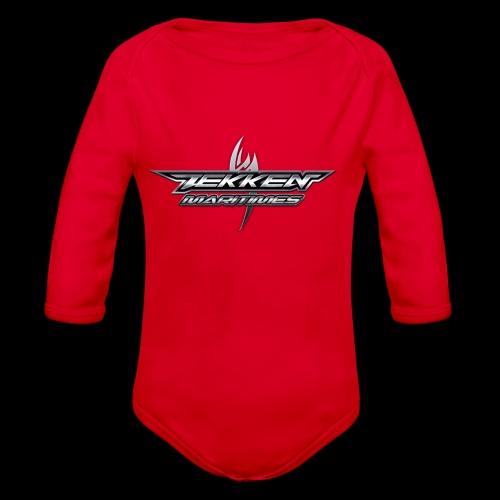 Tekken Maritimes Logo transparent - Organic Long Sleeve Baby Bodysuit