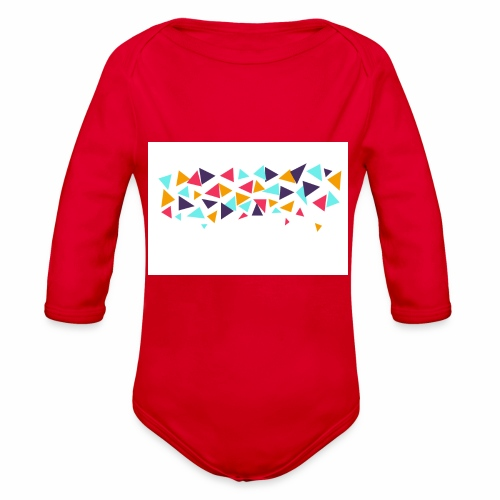 T shirt - Organic Long Sleeve Baby Bodysuit