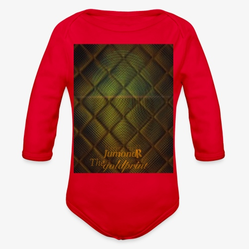 JumondR The goldprint - Organic Long Sleeve Baby Bodysuit