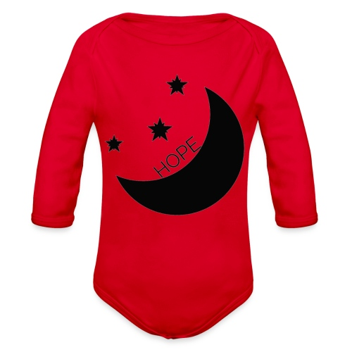 Hope - Organic Long Sleeve Baby Bodysuit