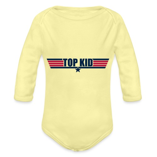 Top Kid - Organic Long Sleeve Baby Bodysuit