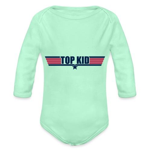 Top Kid - Organic Long Sleeve Baby Bodysuit