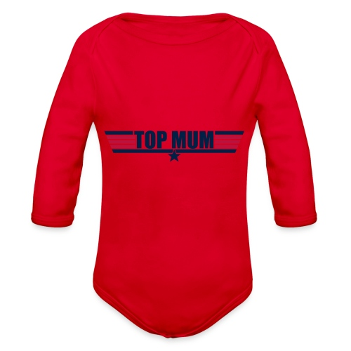 Top Mum - Organic Long Sleeve Baby Bodysuit