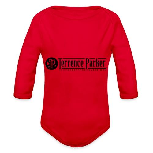 TERRENCE PARKER LOGO - Organic Long Sleeve Baby Bodysuit