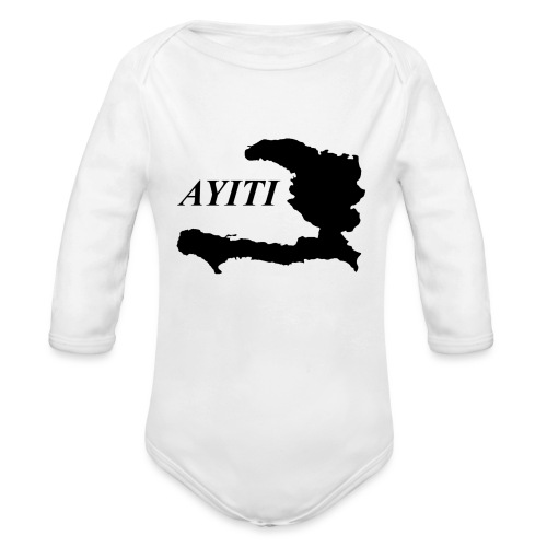 Hispaniola - Organic Long Sleeve Baby Bodysuit