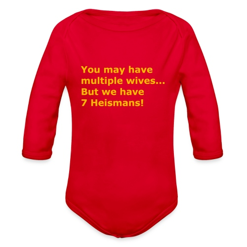 Multiple Wives - Organic Long Sleeve Baby Bodysuit