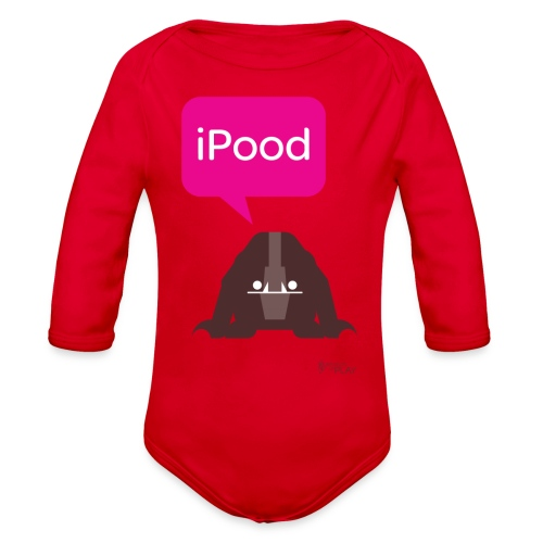 iPood - Organic Long Sleeve Baby Bodysuit