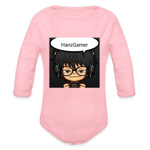Official Logo - Organic Long Sleeve Baby Bodysuit