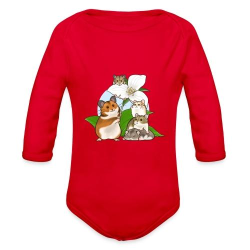Ontario Hamster Club - Organic Long Sleeve Baby Bodysuit