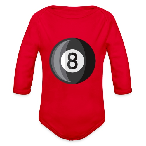 8 Ball - Organic Long Sleeve Baby Bodysuit
