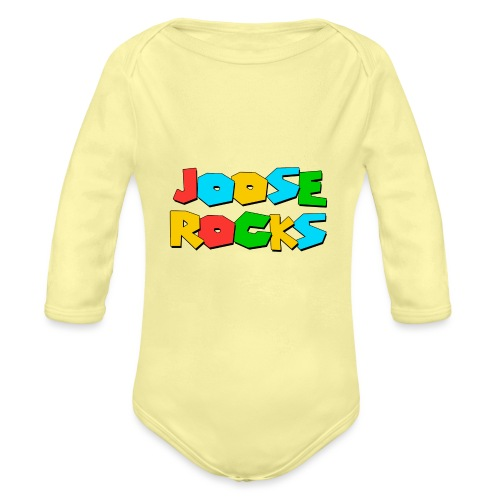 Super Joose Rocks - Organic Long Sleeve Baby Bodysuit