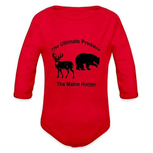 Ultimate Predator - Organic Long Sleeve Baby Bodysuit