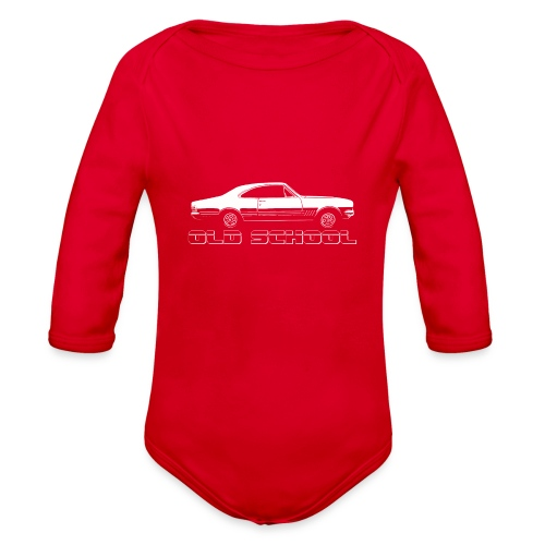 HK MONARO - Organic Long Sleeve Baby Bodysuit