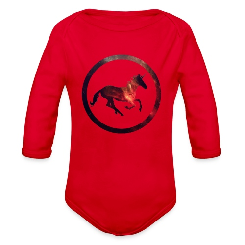 Believe Unicorn Universe 2 - Organic Long Sleeve Baby Bodysuit