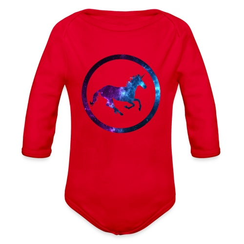 Believe Unicorn Universe 3 - Organic Long Sleeve Baby Bodysuit