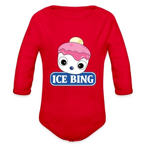 ICEBING - Organic Long Sleeve Baby Bodysuit
