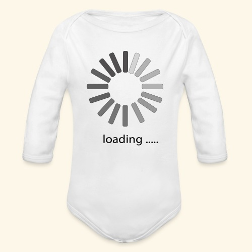 poster 1 loading - Organic Long Sleeve Baby Bodysuit