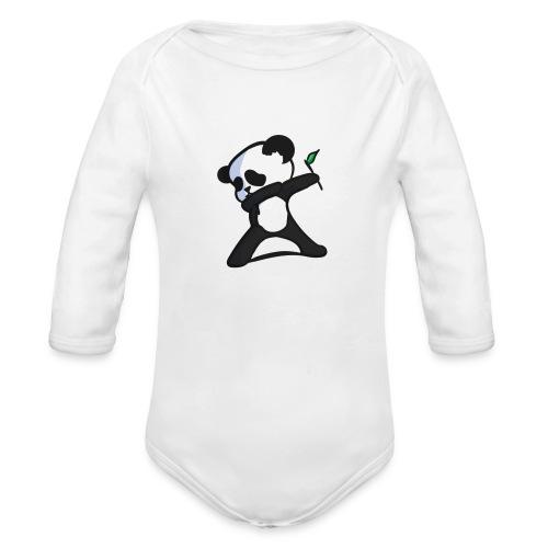 Panda DaB - Organic Long Sleeve Baby Bodysuit