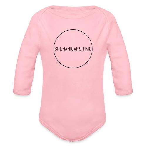 LOGO ONE - Organic Long Sleeve Baby Bodysuit