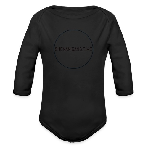 LOGO ONE - Organic Long Sleeve Baby Bodysuit