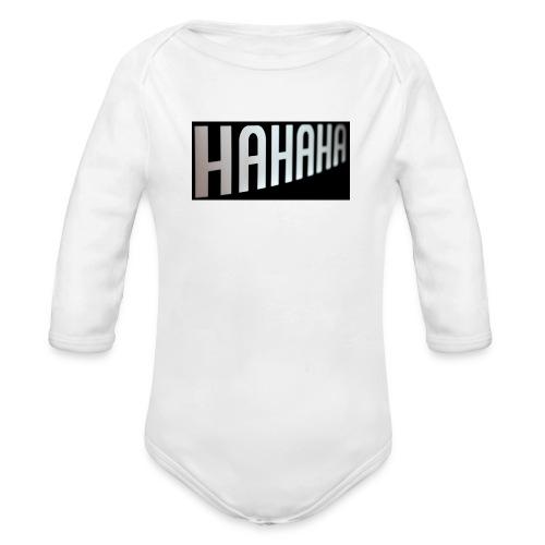 mecrh - Organic Long Sleeve Baby Bodysuit