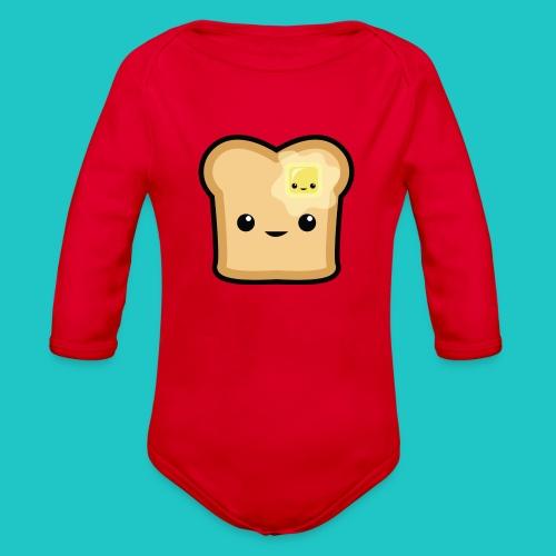 Toast - Organic Long Sleeve Baby Bodysuit