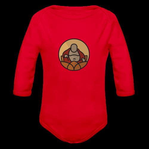 AMERICAN BUDDHA CO. COLOR - Organic Long Sleeve Baby Bodysuit