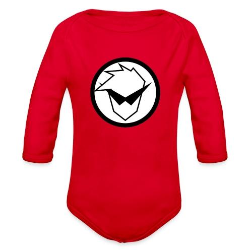FaryazGaming Logo - Organic Long Sleeve Baby Bodysuit