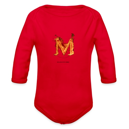 great logo - Organic Long Sleeve Baby Bodysuit