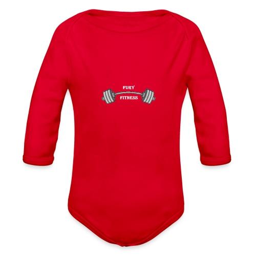 Fury Fitness - Organic Long Sleeve Baby Bodysuit