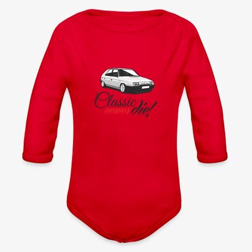 Favorit classic newer die - Organic Long Sleeve Baby Bodysuit