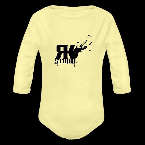 RKStudio Black Version - Organic Long Sleeve Baby Bodysuit