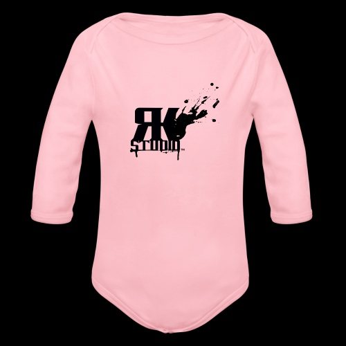 RKStudio Black Version - Organic Long Sleeve Baby Bodysuit