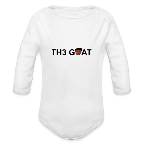 The goat cartoon - Organic Long Sleeve Baby Bodysuit
