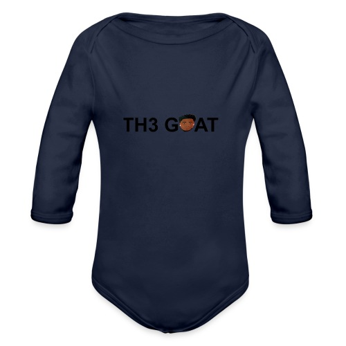 The goat cartoon - Organic Long Sleeve Baby Bodysuit