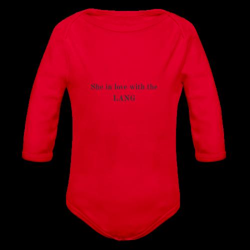 LANG - Organic Long Sleeve Baby Bodysuit