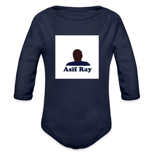 Untitled 3 - Organic Long Sleeve Baby Bodysuit