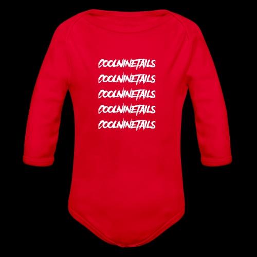 Multi Name - Organic Long Sleeve Baby Bodysuit