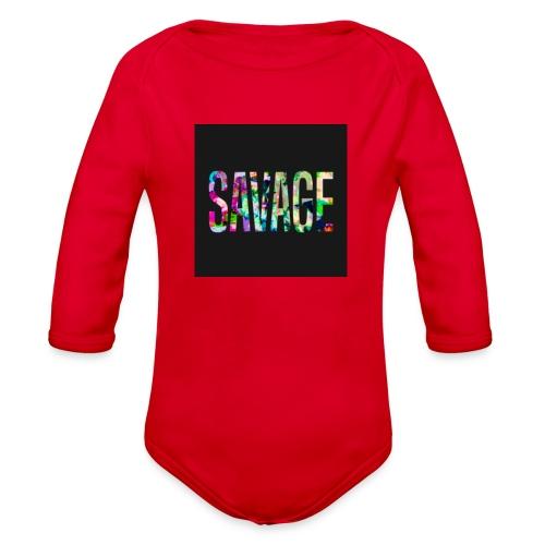 Savage Wear - Organic Long Sleeve Baby Bodysuit
