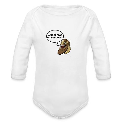 Chabbb! - Organic Long Sleeve Baby Bodysuit