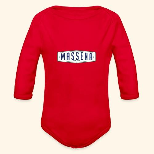 Massena Plate - Organic Long Sleeve Baby Bodysuit