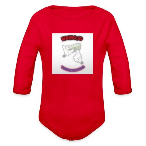 YBS T shirts - Organic Long Sleeve Baby Bodysuit