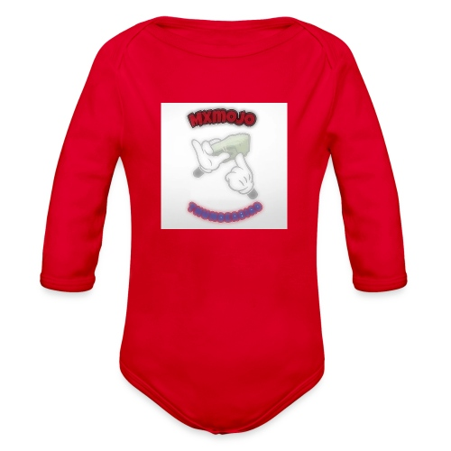 YBS T shirts - Organic Long Sleeve Baby Bodysuit