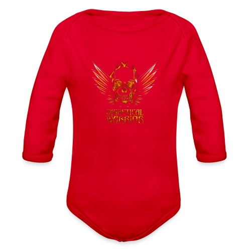 Diabetical Warrior - Organic Long Sleeve Baby Bodysuit