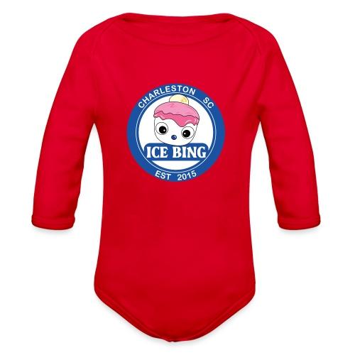 ICEBING002 - Organic Long Sleeve Baby Bodysuit