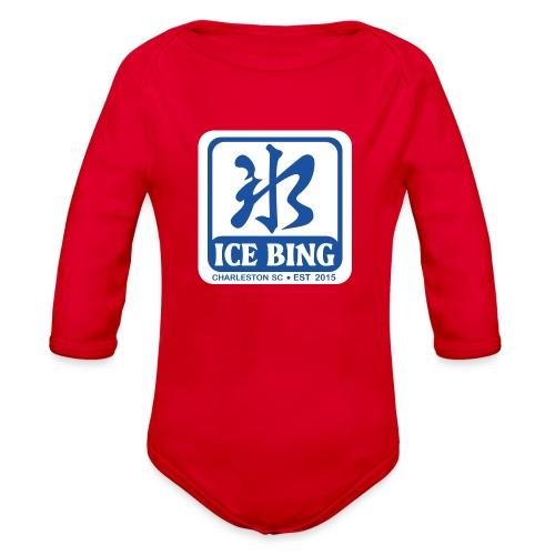 ICEBING003 - Organic Long Sleeve Baby Bodysuit