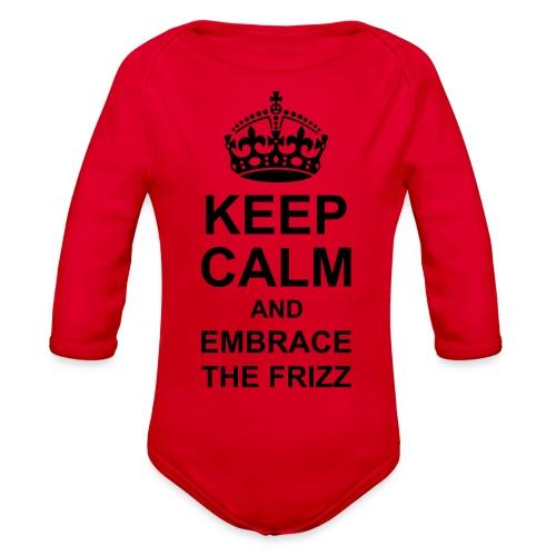frizz - Organic Long Sleeve Baby Bodysuit