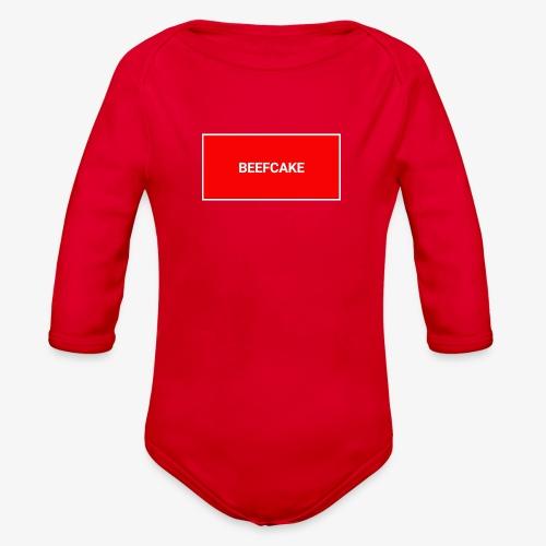 Beefcake supreme - Organic Long Sleeve Baby Bodysuit